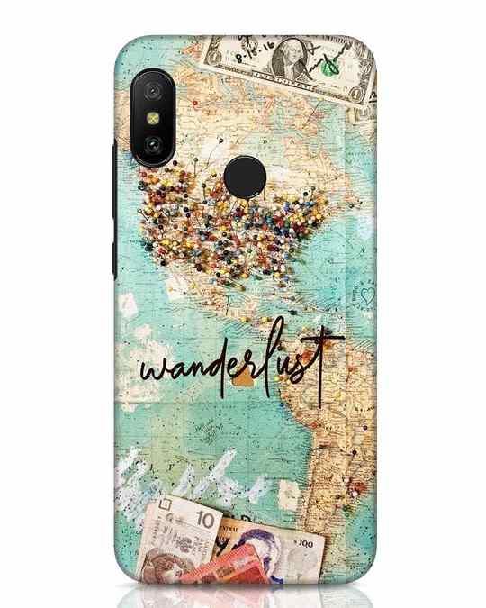 Shop Wanderlust Xiaomi Redmi Note 6 Pro Mobile Cover-Front