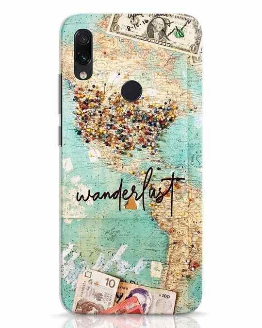 Shop Wanderlust Xiaomi Redmi Note 7 Mobile Cover-Front