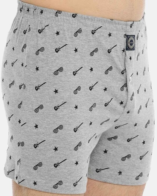Shop Joven | Wannabe Rockstar Grey Knitted Boxers