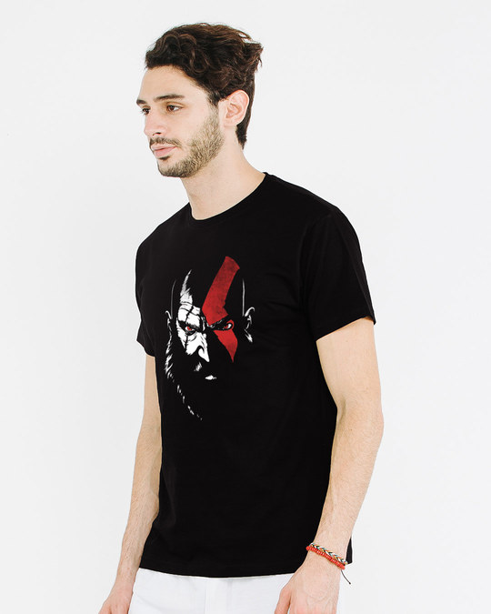 Shop War God Half Sleeve T-Shirt-Design