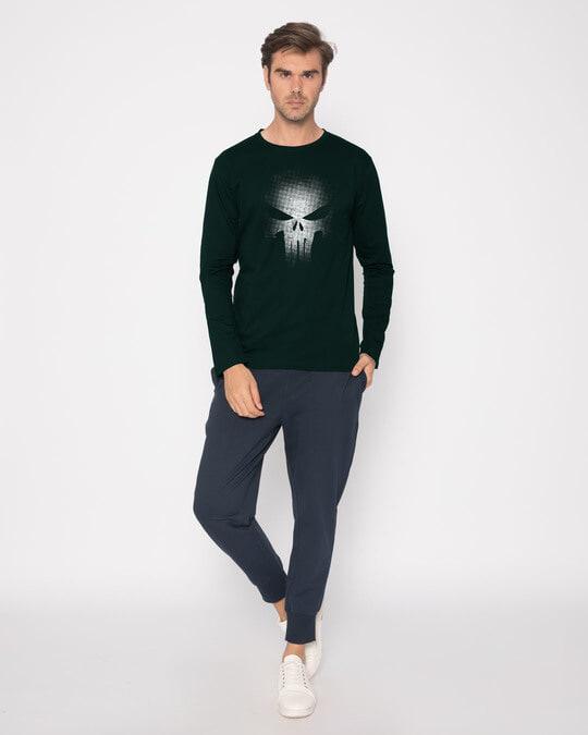 Shop Warrior Punisher Full Sleeve T-Shirt-Full