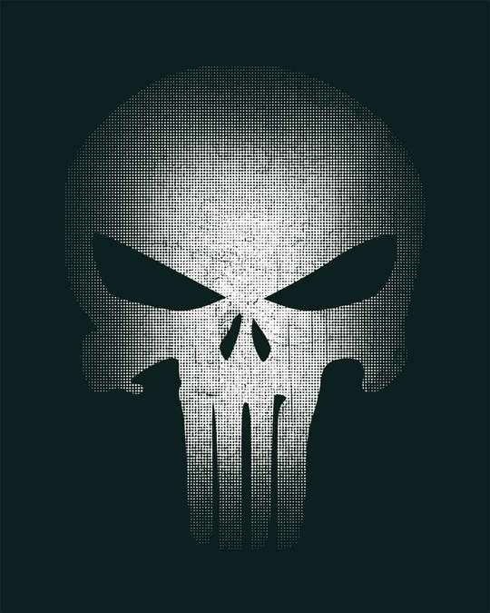 Shop Warrior Punisher Full Sleeve T-Shirt