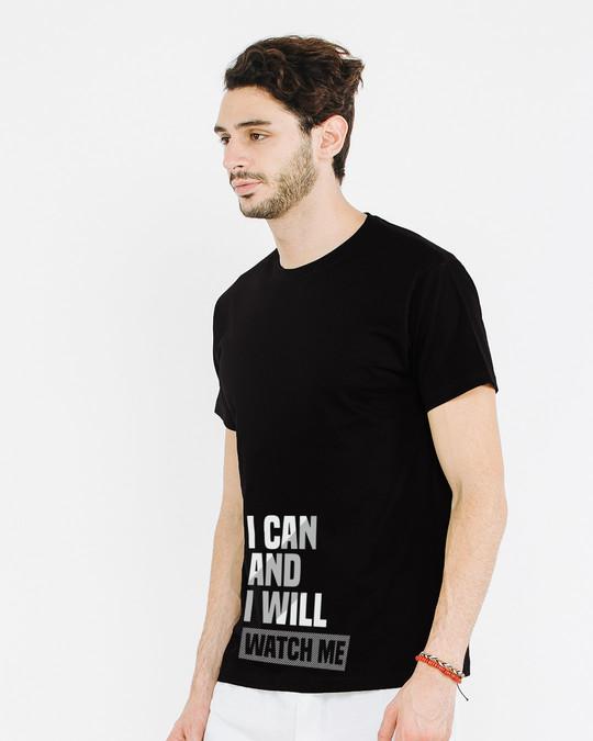 Shop Watch Me Half Sleeve T-Shirt-Design