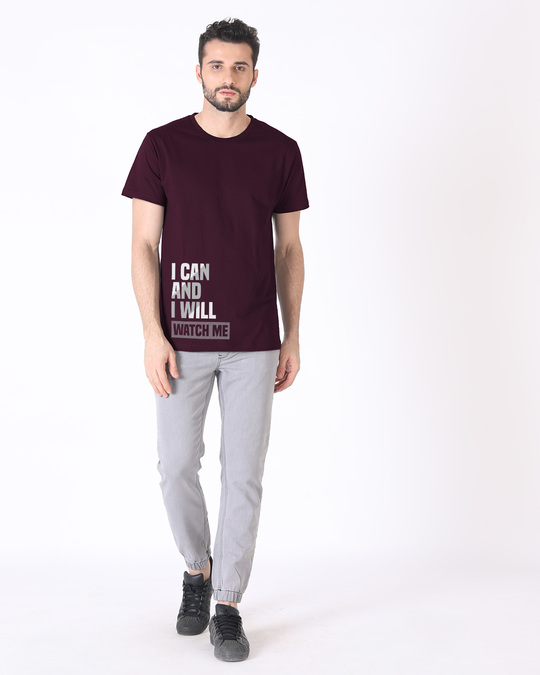 Shop Watch Me Half Sleeve T-Shirt
