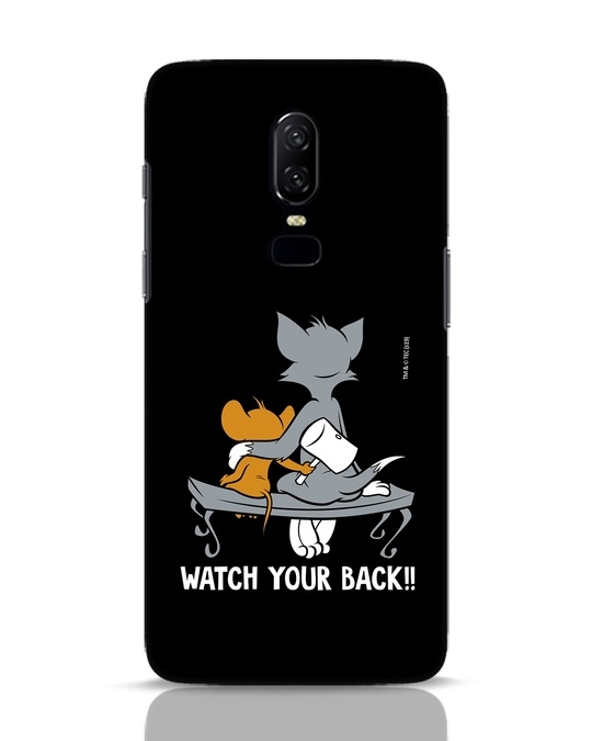 Shop Watch Your Back OnePlus 6 Mobile Cover (TJL)-Front