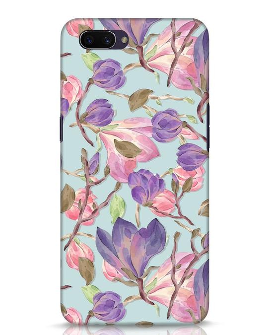 Shop Watercolor Tulips Oppo A3S Mobile Cover-Front