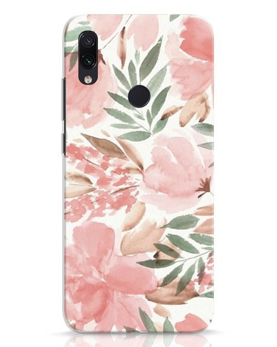 Shop Watercolorfloral Xiaomi Redmi Note 7 Mobile Cover-Front