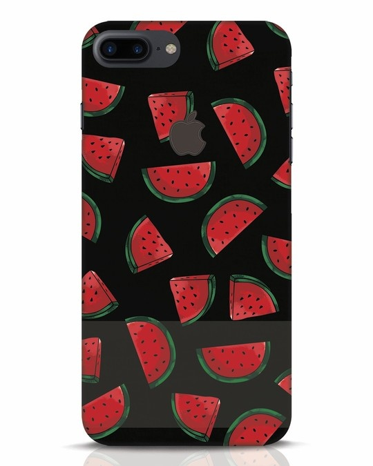 Shop Watermelons iPhone 7 Plus Logo Cut Mobile Cover-Front