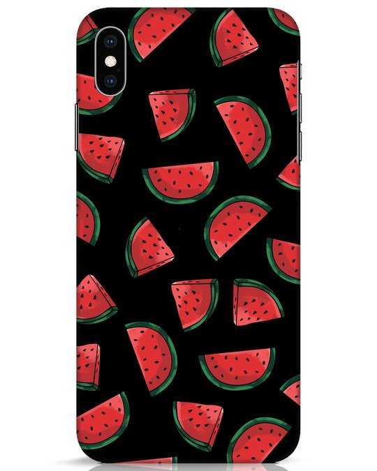 Shop Watermelons iPhone XS Max Mobile Cover-Front