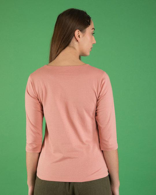 Shop Watsup Bunny Round Neck 3/4th Sleeve T-Shirt-Back