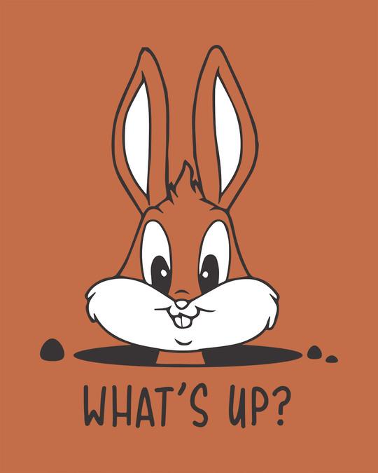Shop Watsup Bunny Scoop Neck Full Sleeve T-Shirt-Full