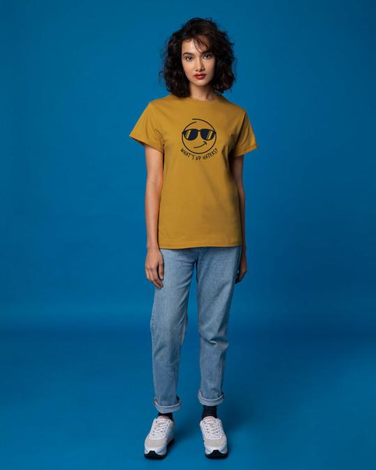 Shop Watsup Haters Boyfriend T-Shirt