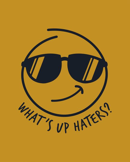 Shop Watsup Haters Sweatshirt-Full