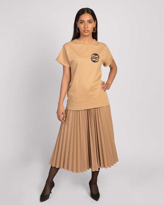Shop Wave Reflect Boyfriend T-Shirt