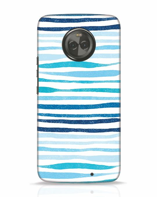 Shop Waves Moto X4 Mobile Cover-Front