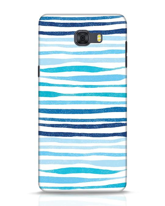 Shop Waves Samsung Galaxy C9 Pro Mobile Cover-Front