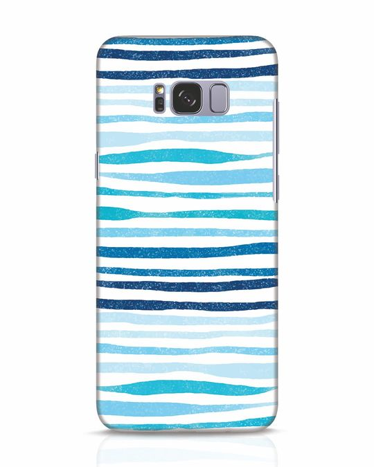 Shop Waves Samsung Galaxy S8 Mobile Cover-Front