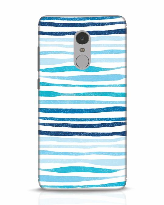 Shop Waves Xiaomi Redmi Note 4 Mobile Cover-Front