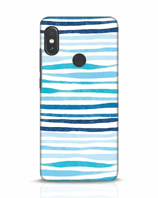 Shop Waves Xiaomi Redmi Note 5 Pro Mobile Cover-Front