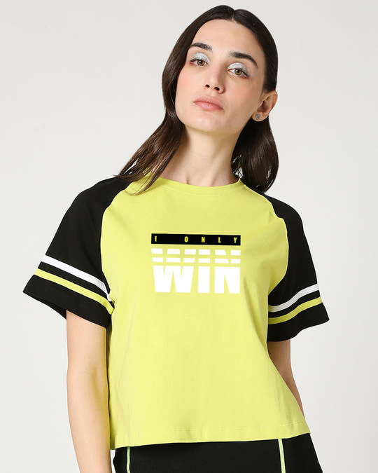 Shop We Only Win Short Top-Front
