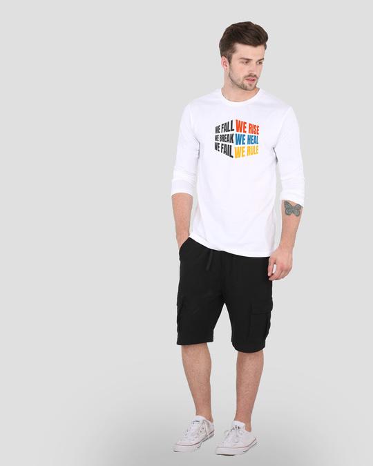 Shop We Rise   Full Sleeve T-Shirt-Design