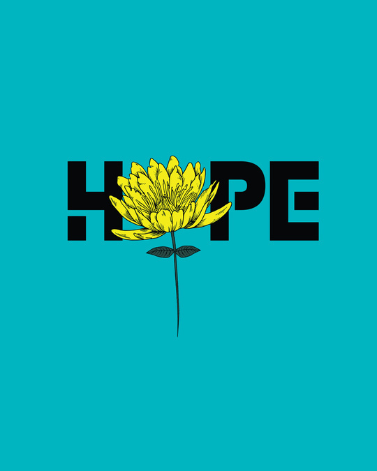 Shop We Still Have Hope Round Neck 3/4th Sleeve T-Shirt-Full