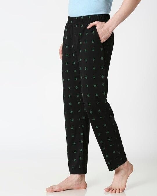 Shop Weed Life AOP Pyjama-Back