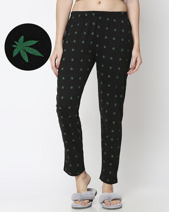 Shop Weed Life AOP Pyjama-Front