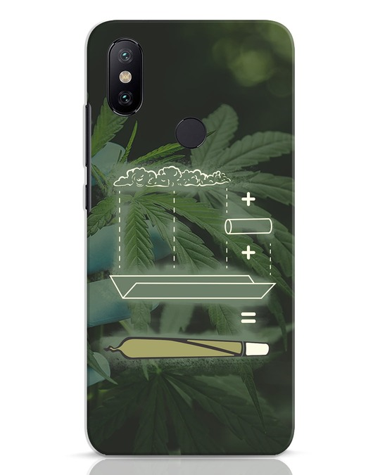 Shop Weed Math Xiaomi Mi A2 Mobile Cover-Front