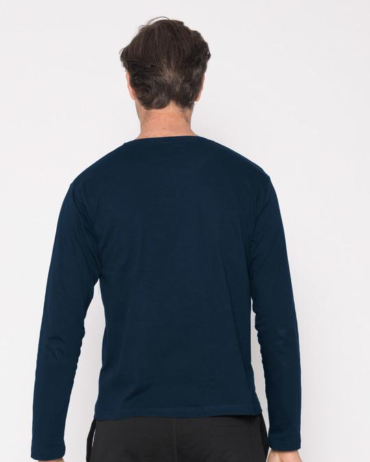 Shop Week's Plan Full Sleeve T-Shirt-Back