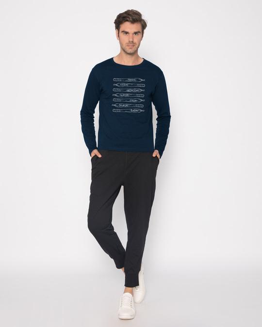 Shop Week's Plan Full Sleeve T-Shirt-Full