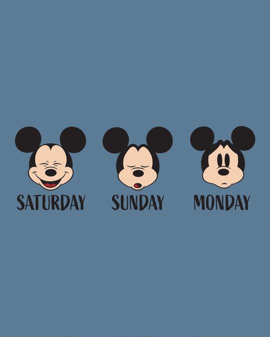 Shop Weekend Mood Mickey Boyfriend T-Shirt (DL)