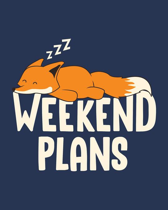 Shop Weekend Plans Full Sleeve T-Shirt-Full