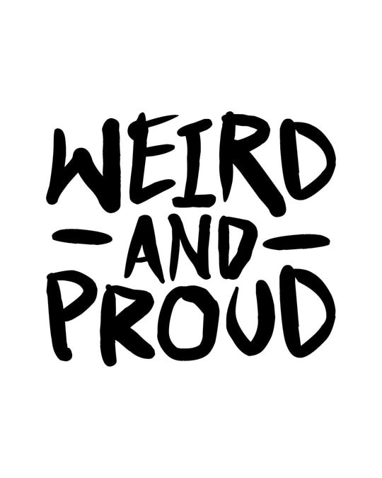 Shop Weird And Proud Half Sleeve T-Shirt