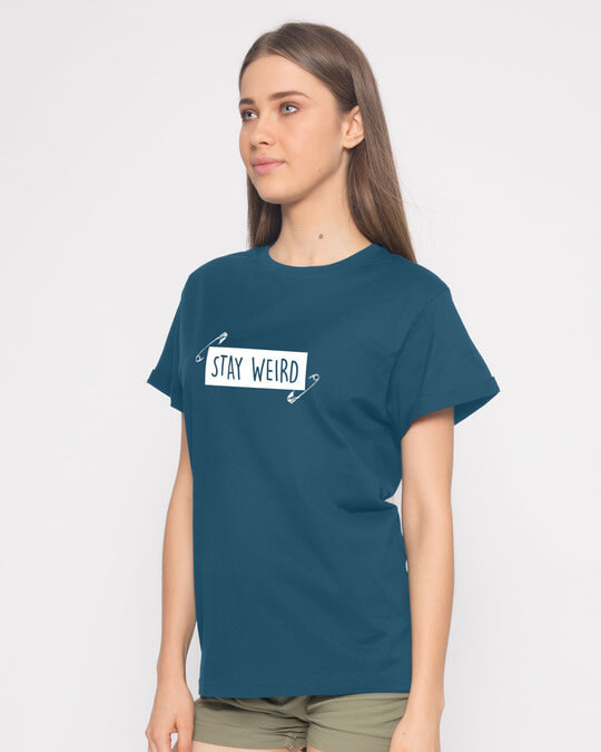 Shop Weird Boyfriend T-Shirt-Back
