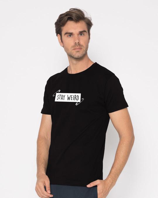 Shop Weird Half Sleeve T-Shirt-Full