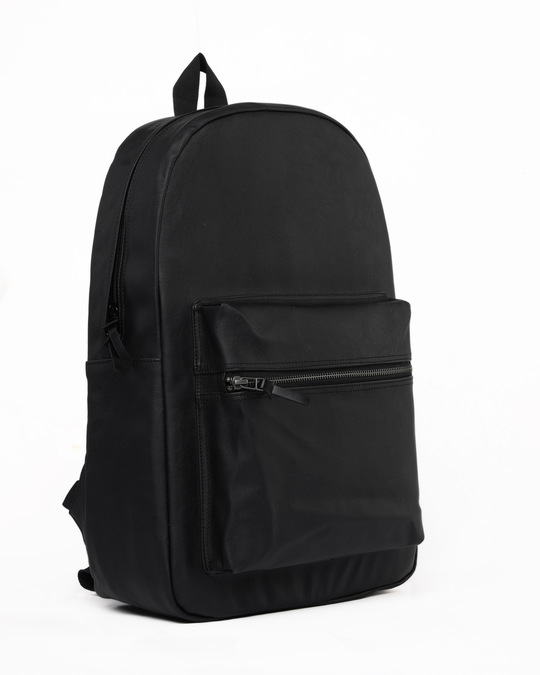 Shop West Coast Black Backpack-Back