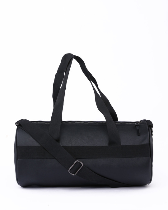 Shop West Coast Black Duffle Bag-Front
