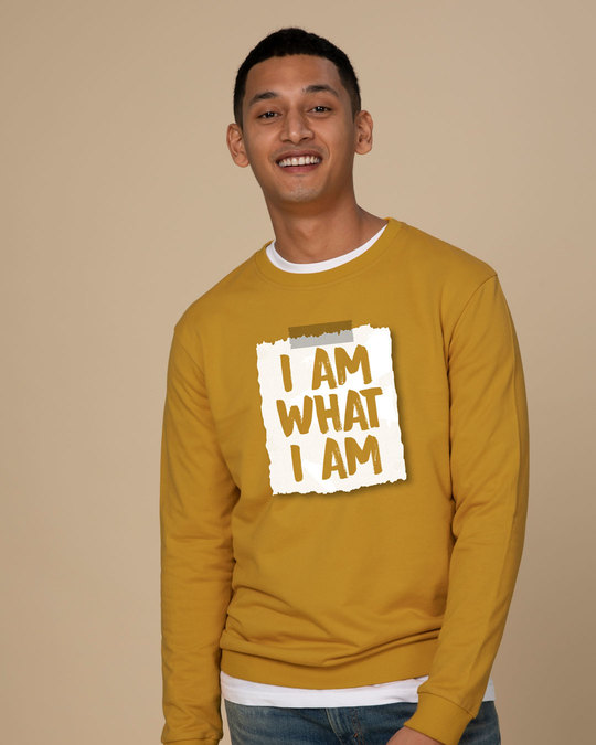Shop What I Am Sweatshirt-Front