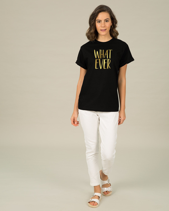 Shop Whatever Gold Gradient Boyfriend T-Shirt