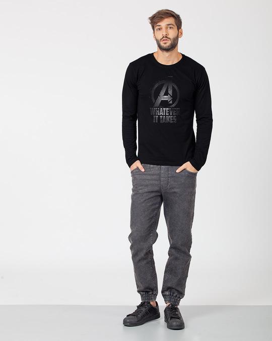 Shop Whatever It Takes Full Sleeve T-Shirt (AVL)