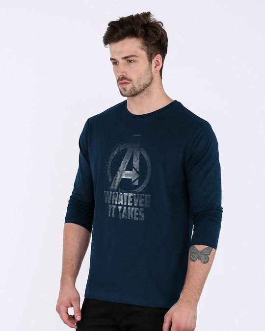 Shop Whatever It Takes Full Sleeve T-Shirt (AVL)-Back