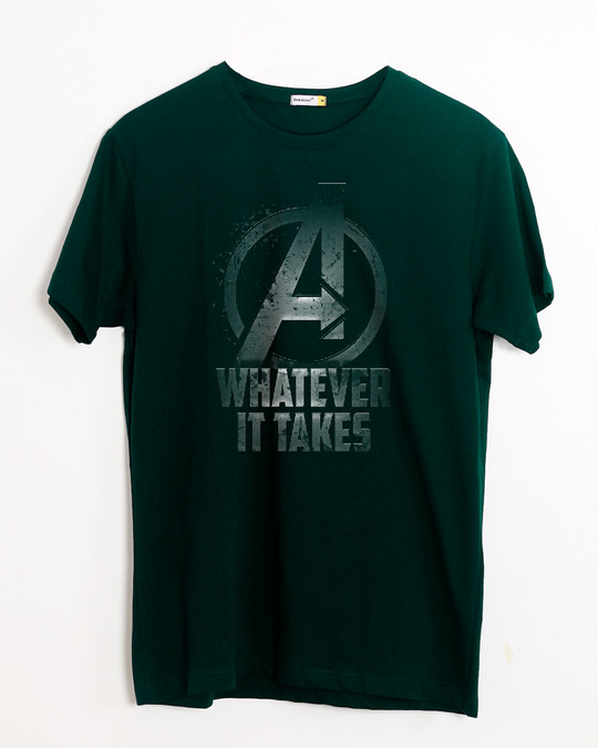 Shop Whatever It Takes Half Sleeve T-Shirt (AVL)-Front