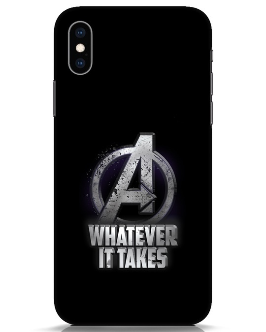 Shop Whatever It Takes iPhone XS Mobile Cover-Front