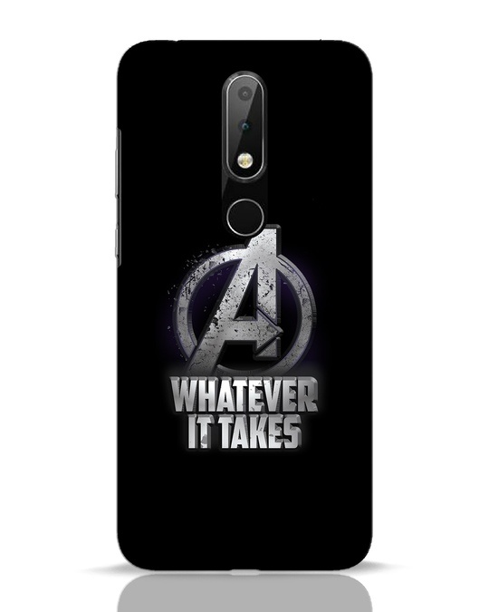 Shop Whatever It Takes Nokia 6.1 Plus Mobile Cover-Front