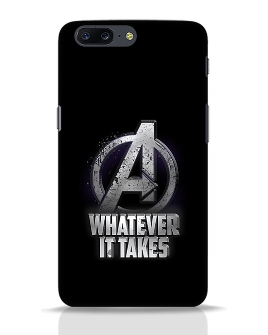 Shop Whatever It Takes OnePlus 5 Mobile Cover-Front