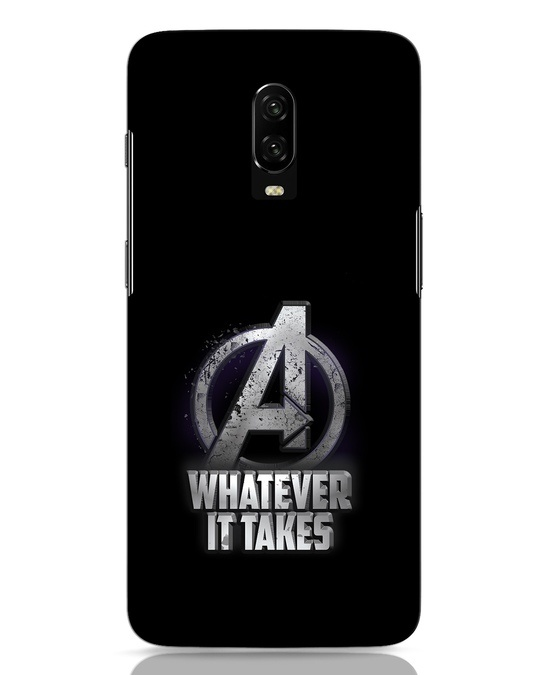 Shop Whatever It Takes OnePlus 6T Mobile Cover-Front