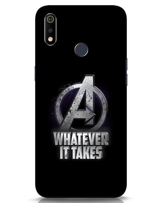 Shop Whatever It Takes Realme 3i Mobile Cover-Front