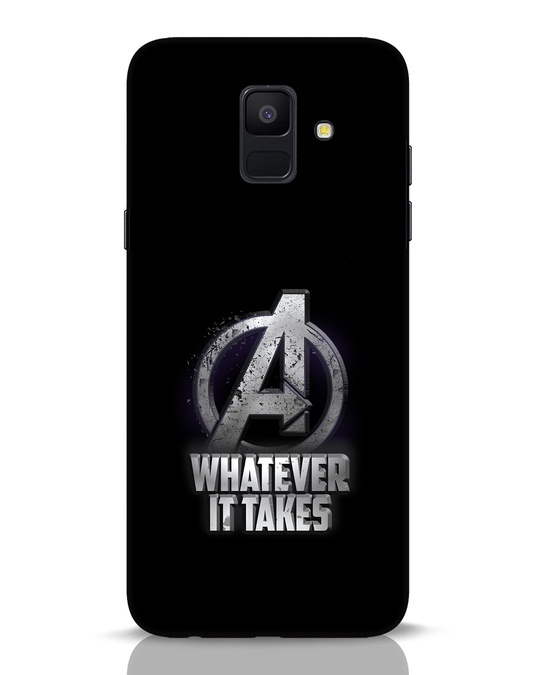Shop Whatever It Takes Samsung Galaxy A6 2018 Mobile Cover-Front