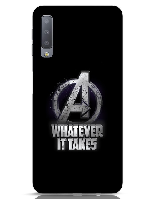Shop Whatever It Takes Samsung Galaxy A7 Mobile Cover-Front